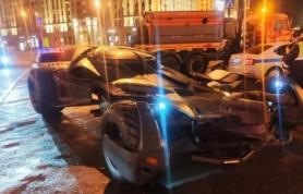 В Москве ДПС конфисковали «Бэтмобиль»