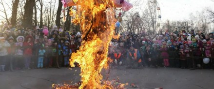 В центральном парке Петербурга Масленицу отпразднуют на 4 площадках