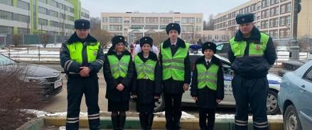 Сотрудники Госавтоинспекции Новой Москвы провели профилактическое мероприятие «Пешеход»