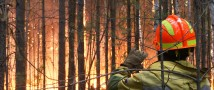 Федеральный «лесной спецназ» ФБУ «Авиалесоохрана» отстоял село Танха от огня