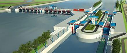 На строительство Багаевского гидроузла на Дону направили более 19 миллиардов рублей