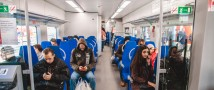 Исторические фильмы стали доступны пассажирам «Ласточек» ко Дню Победы