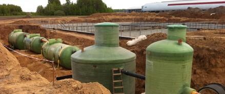 Очистные сооружения поселка Горки 10 в Одинцово реконструируют