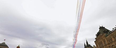 Россия отмечает День Победы во Второй мировой войне