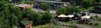 В красноярском зоопарке появится колесо обозрения и автодром