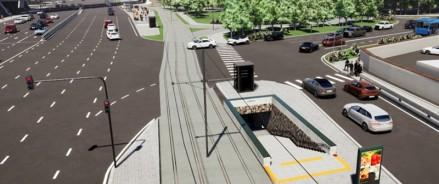 Москвичи обсуждают строительство подземного пешеходного перехода на пересечении Варшавского шоссе и Новоданиловского проезда