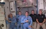Астронавты с Dragon перешли на МКС
