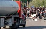 Массовые протесты в США из-за смерти Джорджа Флойда продолжаются