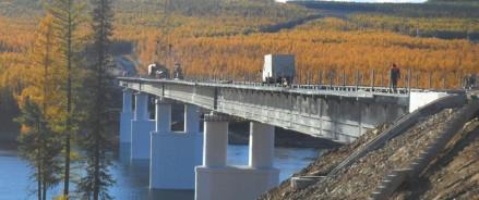 На дороге Р-504 «Колыма» Якутск – Магадан построят мост через реку Алдан