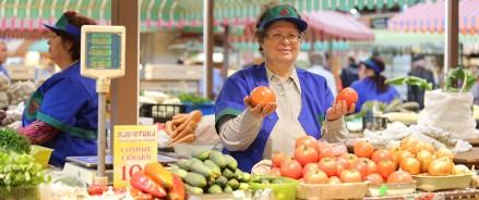 В Казани открылась уникальная торговая площадка «Наш фермер»