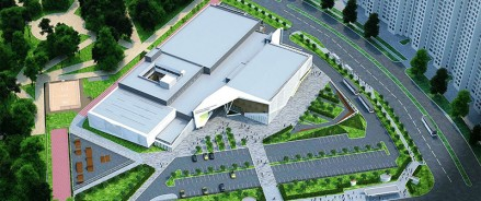 В Нефтеюганске повторно объявили тендер на строительство многофункционального спортивного комплекса