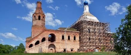На возрождение Успенской церкви в Боровенске направят 99 млн рублей