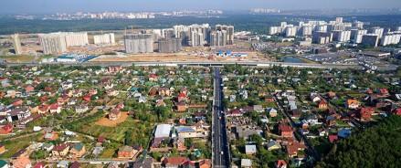 Развитие улично-дорожной сети в Новой Москве идет полным ходом