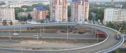 В Казани завершается строительство первого этапа Большого казанского кольца