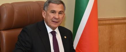 В рейтинге влияния глав субъектов РФ Рустам Минниханов поднялся на шестое место