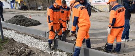 На ремонт тротуаров в Ленинском районе Саратова потратят 60 млн рублей