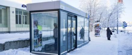 На улице Мира в Ханты-Мансийске появятся утепленные остановки транспорта