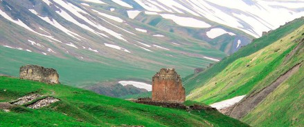 В Северной Осетии восстановят средневековый Зругский храм