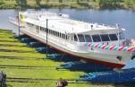 В Татарстане спускают на воду первый пассажирский теплоход на сжиженном природном газе