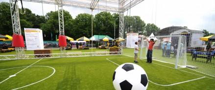 В селе Чаа-Холь Тывы начинают строить новое футбольное поле