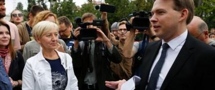 Последний оппозиционер Белоруссии Максим Знак не выходит на связь