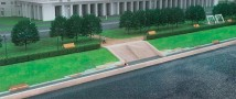 Сквер на Новосмоленской набережной Петербурга приведут в порядок