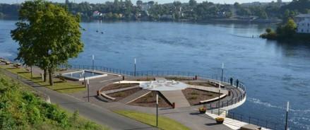 В Ивангороде построят речной променад по программе сотрудничества с Эстонией