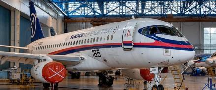 В России проведут анализ прочности модификаций самолета Сухой Суперджет