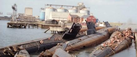 В России утилизируют атомные подводные лодки