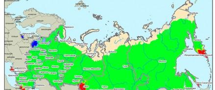 Авиалесоохрана: прогноз на октябрь по лесным пожарам в России