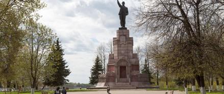 Парк у памятника Ленину в Костроме приобретет новый вид