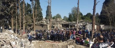 В результате обстрела азербайджанского города Гянджа пострадало и здание православной церкви с полуторавековой историей