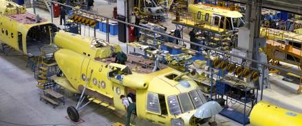 Благодаря нацпроекту на Казанском вертолетном заводе производительность труда повысилась на 33%