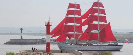 Для парусника «Херсонес» в Севастополе сошьют алые паруса
