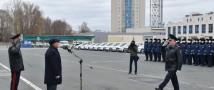 Полицейским Татарстана вручили ключи от 88 новых служебных автомобилей