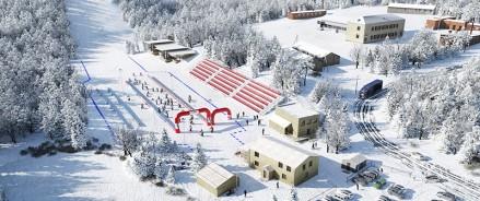 В Москве построят 3 лыжные базы за счет городского бюджета
