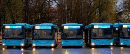 В Санкт-Петербурге пустили 154 автобуса МАЗ и обсуждают покупку электробусов