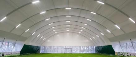 Велогонщики братья Закарины на личные средства построили футбольный манеж в Набережных Челнах