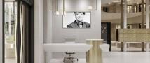 Белый, золотой, зеркальный–вечные тренды в интерьере башни Валентина Юдашкина