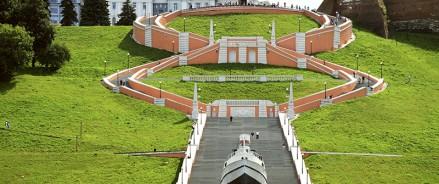Чкаловскую лестницу в Нижнем Новгороде отремонтируют за 159 млн рублей