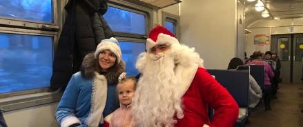 Дед Мороз и Снегурочка поздравят пассажиров с наступающим Новым годом