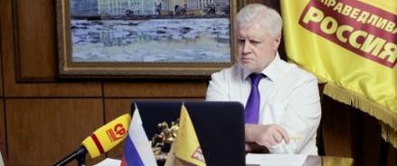 Лидер «Справедливой России» провел видеоконференцию с представителями Левой партии Германии