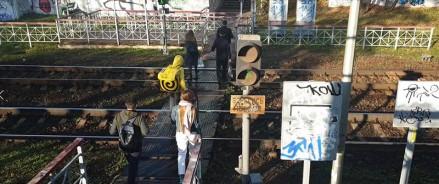 Московские активисты ОНФ добиваются строительства перехода через железнодорожные пути на улице Бутырский Вал