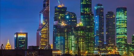 На башне «Евразия» в Москва-Сити появится художественная подсветка