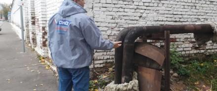 После сигнала ОНФ в Мещанском районе Москвы восстановили изоляцию на теплотрассе