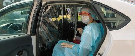 В Казани 75 машин развозят врачей по вызовам к больным на дом