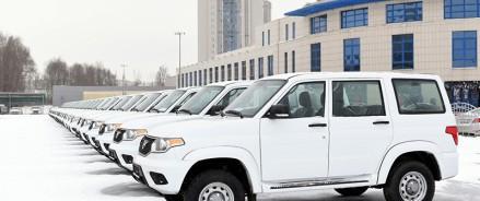 В Татарстане передали сельским больницам 88 новых автомобилей