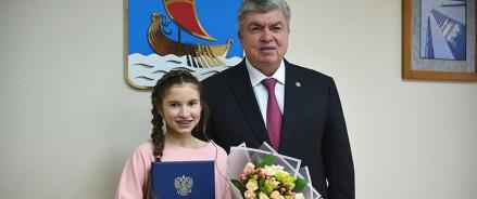 Владимир Путин отметил школьницу из Татарстана Благодарственным письмом