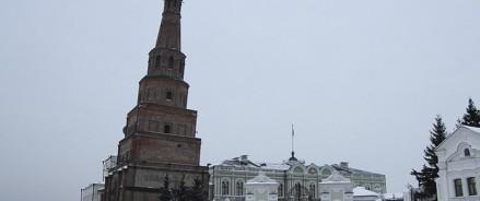 В Казани отклонение башни Сююмбике мониторят при помощи лазеров