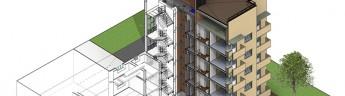 В САО началось строительство нового жилого дома по городскому заказу
